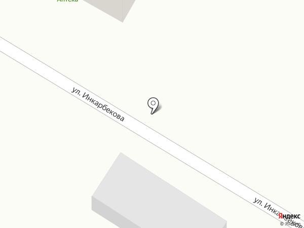 Даурен на карте