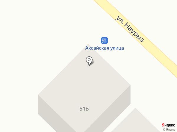 Почтовое отделение связи с. Кыргауылды на карте