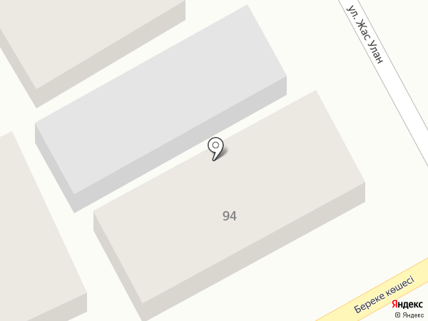 Тауекел на карте