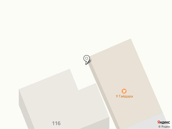 У Гайдара на карте