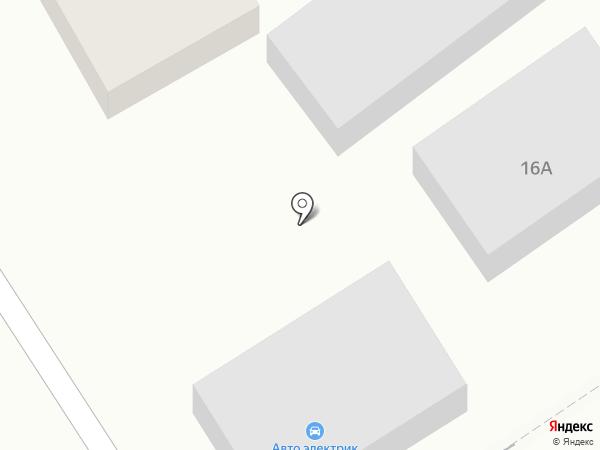 СТО на ул. Жандосова на карте