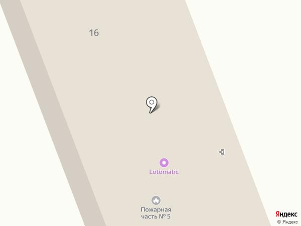 Алатауский районный отдел по ЧС на карте