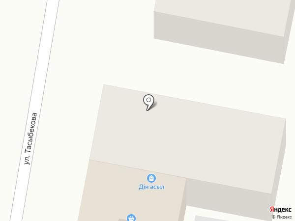 Дин-Асыл на карте