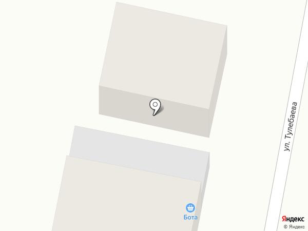 Бота на карте