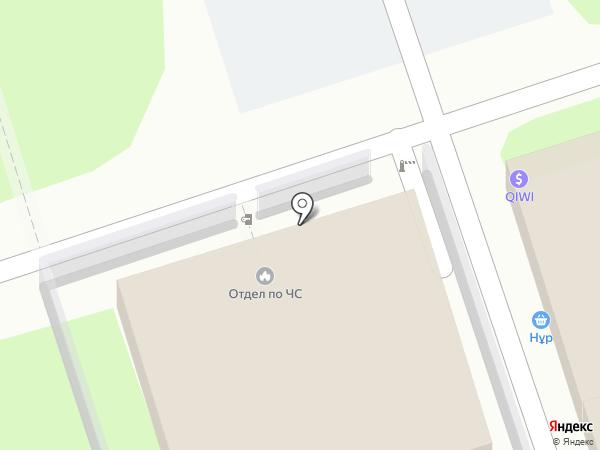 Отдел по ЧС Ауэзовского района ДЧС г. Алматы на карте