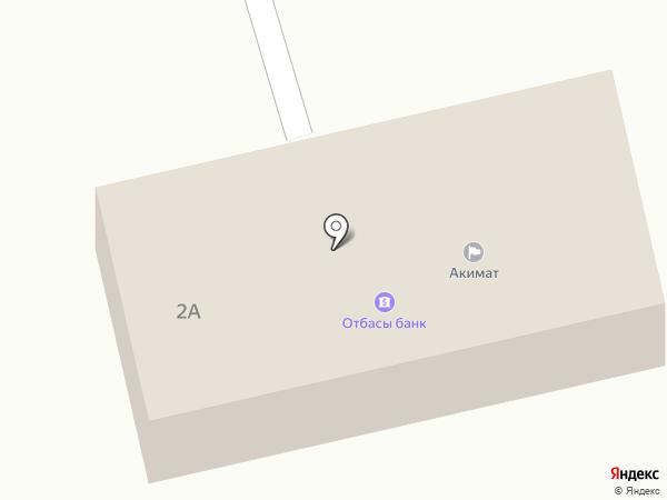 Нур Отан, партия на карте
