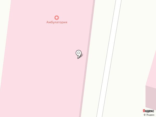 Врачебная амбулатория с. КазЦИК на карте