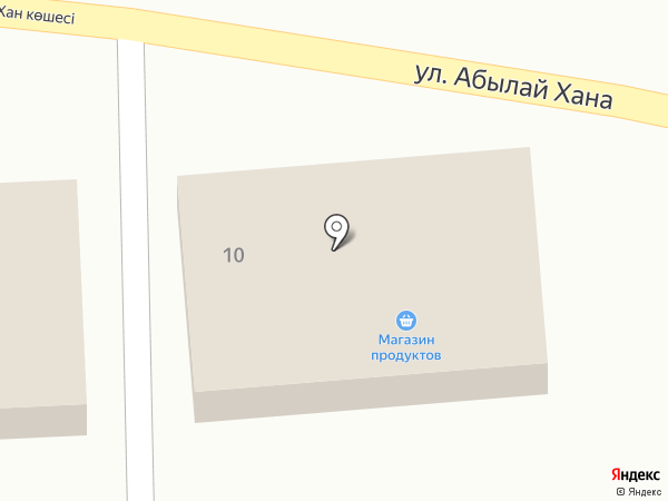 Сервал на карте