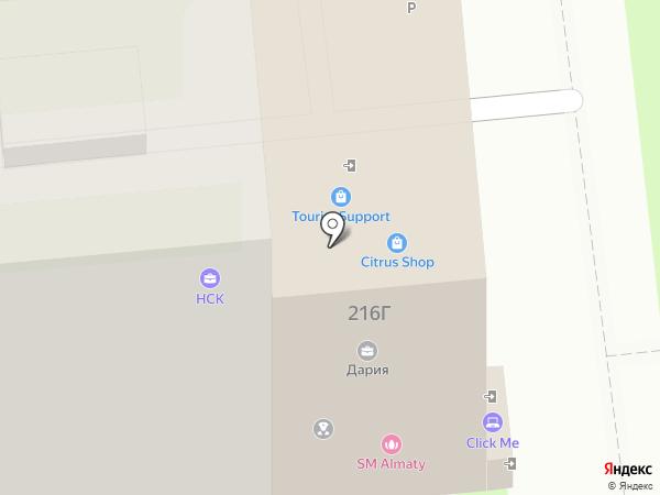Sentiment на карте