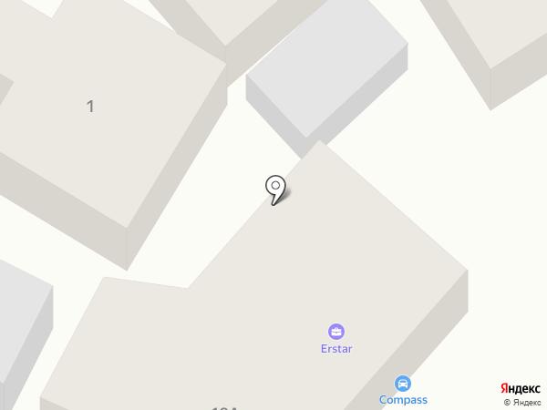 КОМПАС на карте