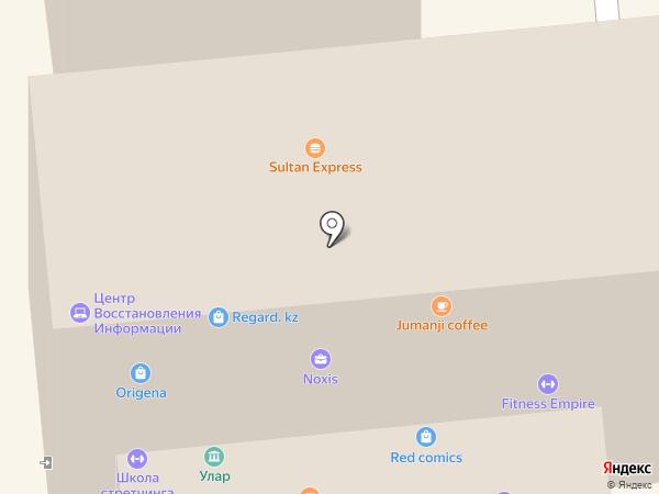 CTVI на карте