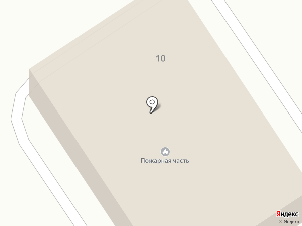 Пожарная часть №3 Илийского района на карте