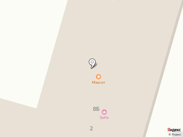 Максат на карте