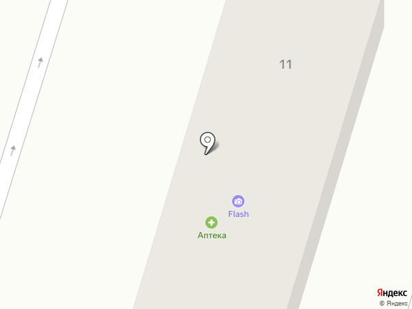 Сапа Дент на карте