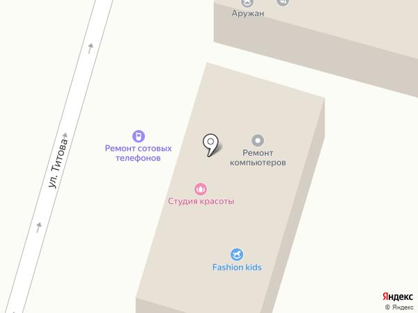 Салон сотовых телефонов на карте