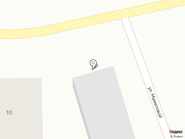 Апорт на карте