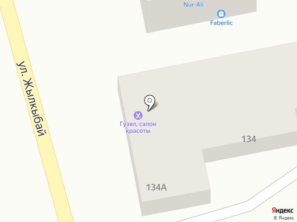 Овощной магазин на ул. Жылкыбай на карте