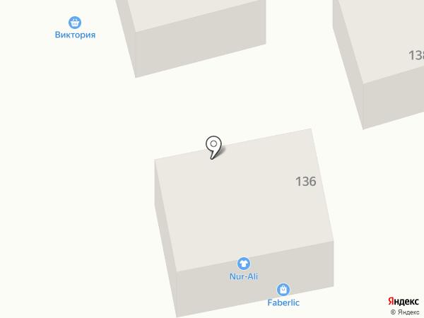 Магазин детской одежды на ул. Жылкыбай на карте