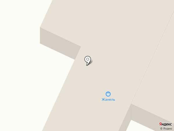 Жанель, продовольственный магазин на карте