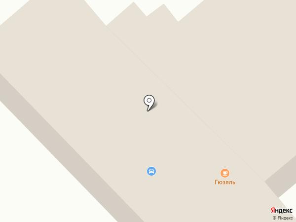 Гузяль на карте