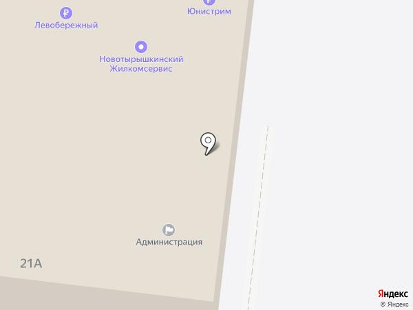 Администрация Новотырышкинского сельсовета на карте