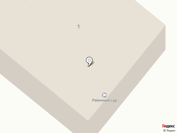 Уланский районный суд на карте
