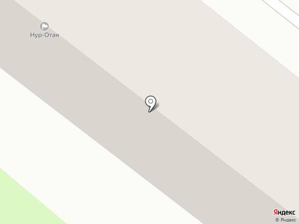 Нур-Отан на карте