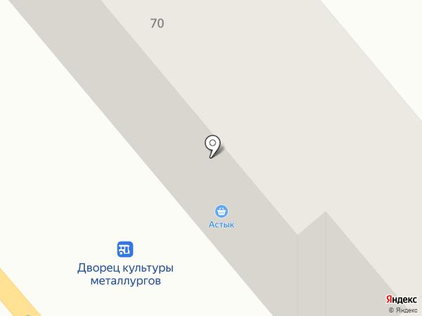 Астық на карте