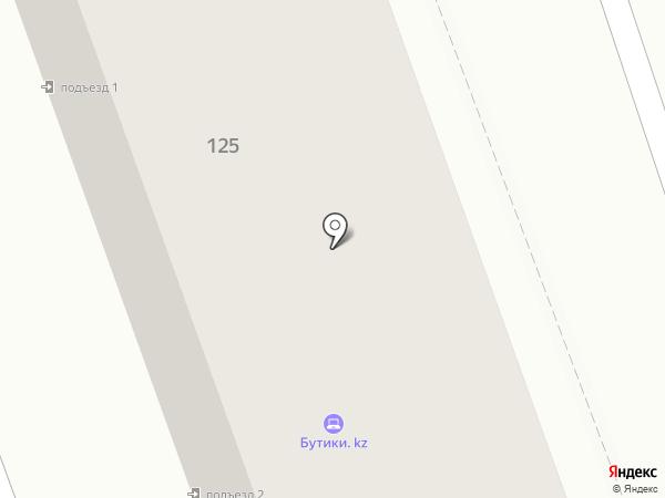 Массагет на карте