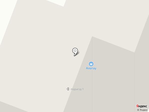 Алатау на карте