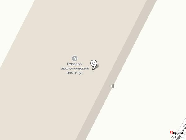 Алтайский геолого-экологический институт, ТОО на карте