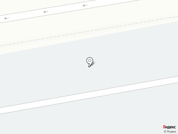 Аэропорт Толмачево на карте