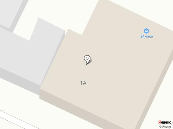 На кольце на карте