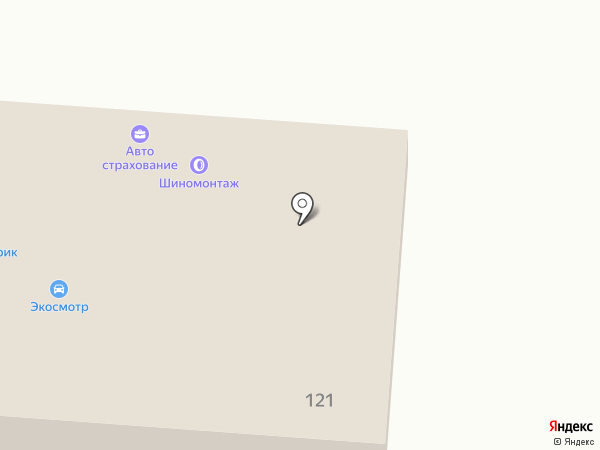 Авторитм 54 на карте