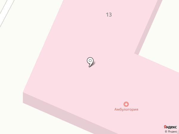 Обская врачебная амбулатория на карте