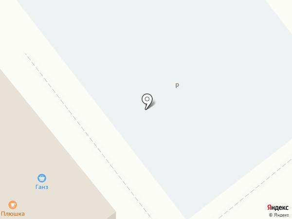 ГАНЗ на карте