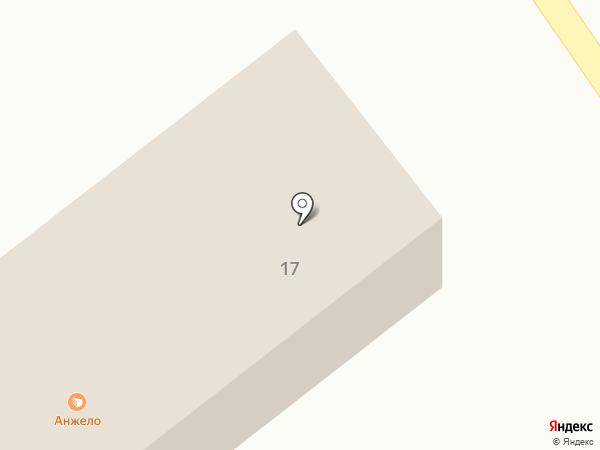 Анжело на карте