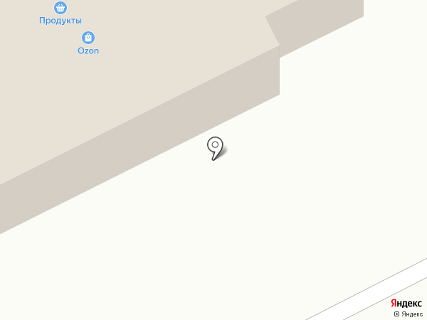 На углу на карте