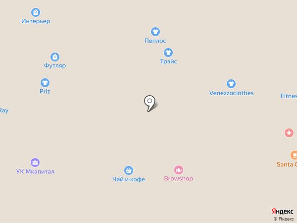 Лэвел на карте