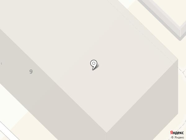 Радея на карте