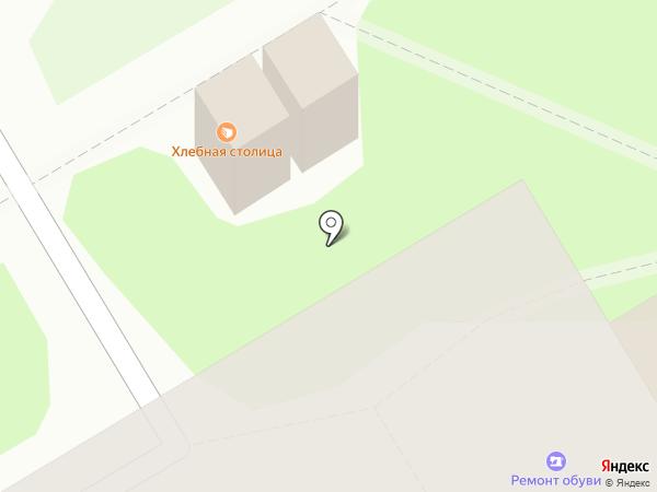 Зелёный луг на карте