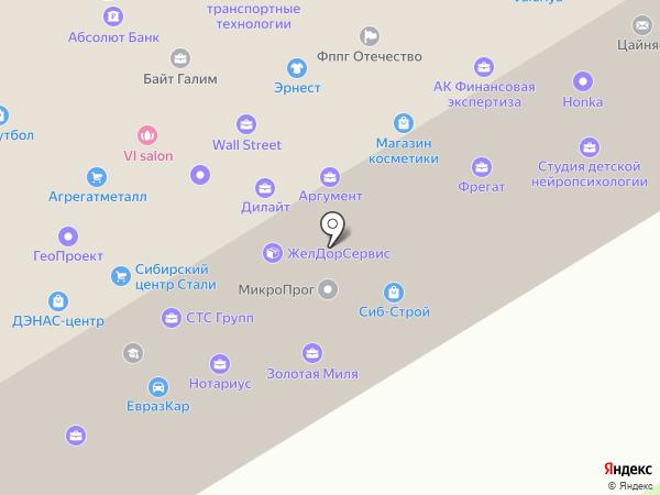 Обская волна на карте