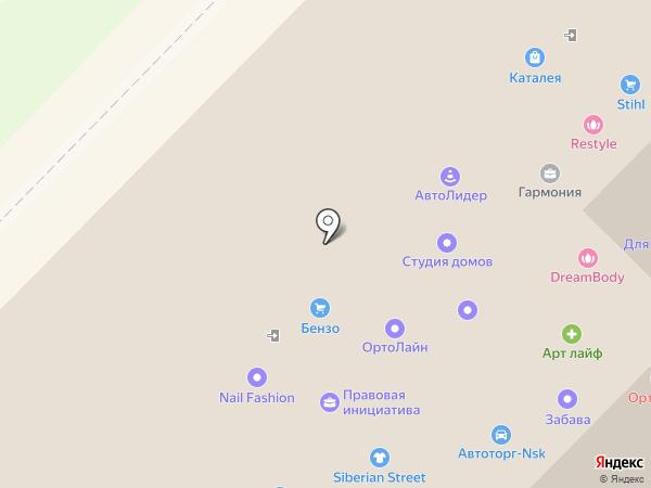 БиПи на карте