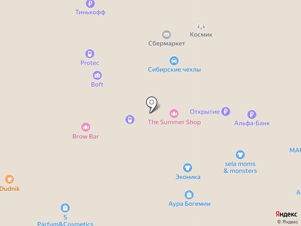 Линзмастер на карте