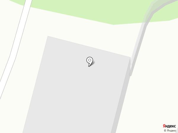 Солнечный на карте