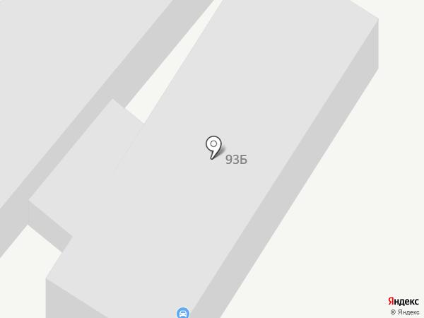 Скутер на карте