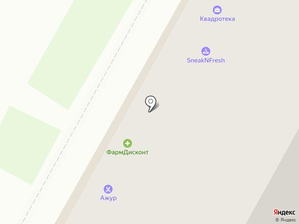 Автомаг54 на карте