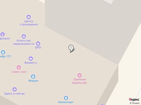 Здесь и сейчас на карте
