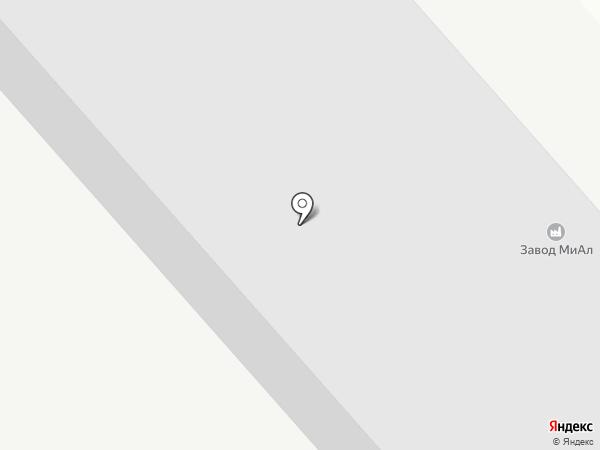 МиАл на карте