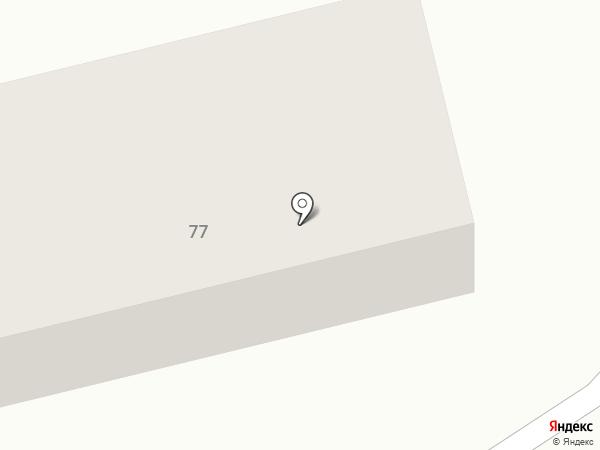 Продовольственный магазин на Школьной на карте